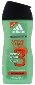 Adidas Active Start Revitalising Tusfürdő Testre, Hajra & Arcra
