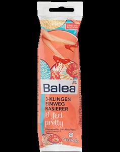 Balea 3-Klingen I Feel Pretty Eldobható Borotva