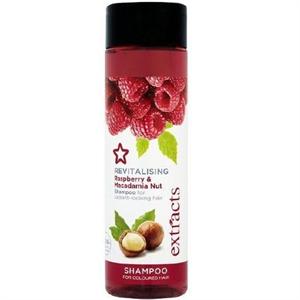 Superdrug Extracts Revitalising Raspberry & Macadamia Nut Sampon