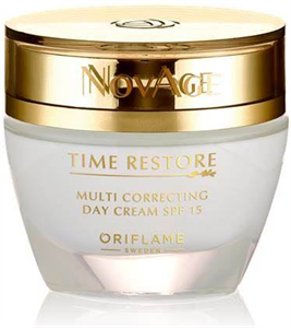 Oriflame NovAge Time Restore Regeneráló Nappali Krém SPF15