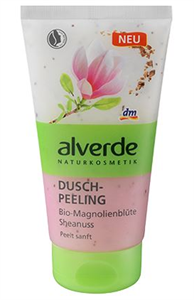 Alverde Duschpeeling Bio-Magnolienblüte Sheanuss
