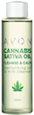 Avon Cannabis Sativa Oil Cleanse & Calm Arctisztító Olaj