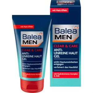 Balea Men Clear & Care Anti-Unreine Haut Gel