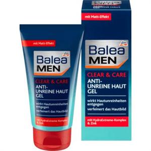 Balea Men Clear & Care Anti-Unreine Haut Gel