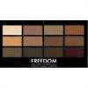 Freedom Makeup Pro 12 Szemhéjpúder Paletta Secret Rose