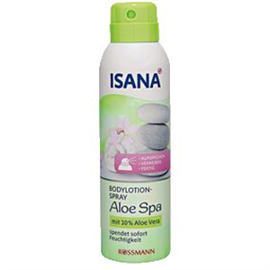 Isana Bodylotion-Spray Aloe Spa