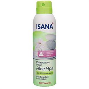 Isana Bodylotion-Spray Aloe Spa