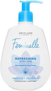 Oriflame Feminelle Frissítő Intim Lemosó Fekete Ribizlivel és Lótuszvirággal