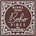 RIVAL loves me Boho Vibes 2In1 Pirosító és Highlighter