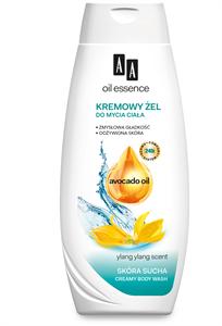 AA Oil Essence Krémes Tusfürdő Gél Száraz Bőrre