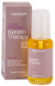 Alfaparf Keratin Therapy Lisse Design The Oil Ápoló Olaj