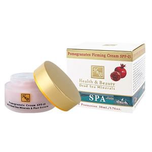 Health & Beauty Gránátalmás Bőrfeszesítő Arckrém SPF15