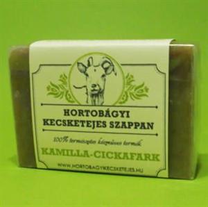 Hortobágyi Kecsketejes Szappan - Kamilla-Cickafark