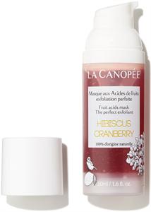 La Canopée Hibiscus Cranberry Exfoliating Mask