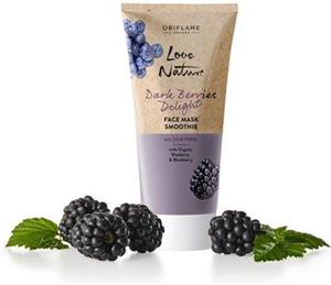 Oriflame Love Nature Dark Berries Delight Arcmaszk Smoothie