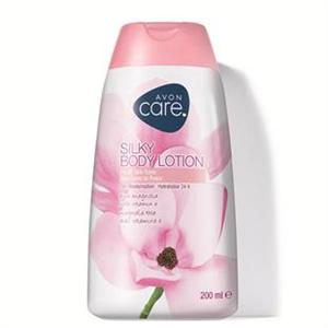 Avon Selymesen Hidratáló Testápoló Pink Magnóliával és E-Vitaminnal