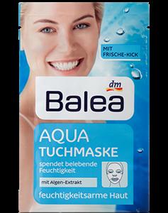 Balea Aqua Hidratáló Szövet-Arcmaszk Alga Kivonattal Vízhiányos Bőrre