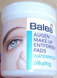 Balea Szemfesték Eltávolító Párna - Vízálló