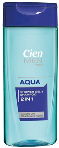 Cien Men 2in1 Aqua Tusfürdő és Sampon