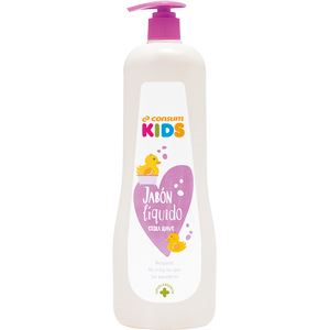 Consum Kids Jabón Líquido Extra Suave