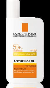La Roche-Posay Anthelios XL SPF 50+ Ultra Könnyű Napvédő Fluid Arcra