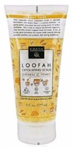 Earth Therapeutics Loofah Exfolating Scrud Oatmeal and Honey