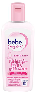 bebe Young Care Quick & Clean Arclemosó Tej és Arcvíz