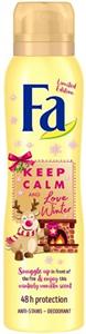 Fa Keep Calm And Love Winter Deo Spray