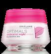 Optimals Oxygen Boost Oxigénes Éjszakai Krém Száraz/Érzékeny Bőrre