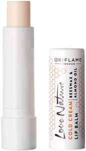 Oriflame Love Nature Cold Cream Ajakbalzsam Tápláló és Bőrvédő Méhviasszal és Mandulaolajjal