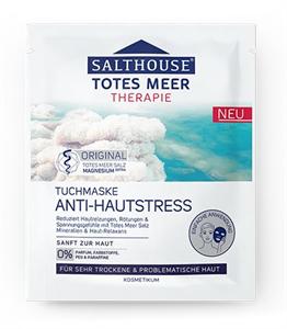 Salthouse Totes Meer Therapie Anti-Hautstress Tuchmaske
