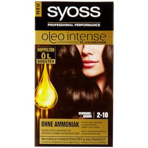 Syoss Oleo Intense Tartós Hajfesték Double Oil Booster
