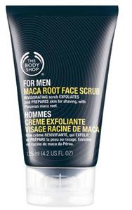 The Body Shop Maca Root Face Scrub For Men