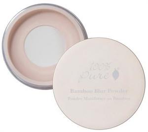 100% Pure Bamboo Blur Púder
