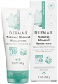 Derma E Natural Mineral Sunscreen SPF30
