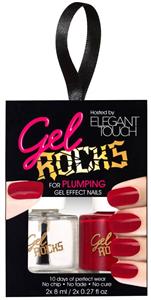 Elegant Touch Gel Rocks Nail Polish Duo Set For Gel Effect Nails