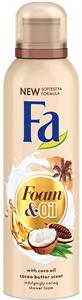 Fa Foam & Oil Kókuszolaj és Kakaóvaj Tusfürdőhab