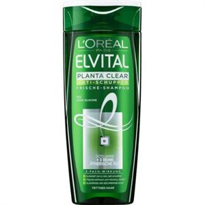 L'Oreal Paris Elvital Planta-Clear Korpa Elleni Sampon Zsíros Fejbőrre