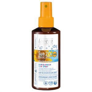 Lavera Sun Gyermek Napvédő Spray SPF 20