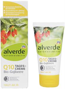 Alverde Q10 Bio-Gojibeere Nappali Arckrém