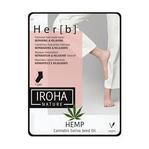Iroha Nature Hemp Intensive Foot Mask