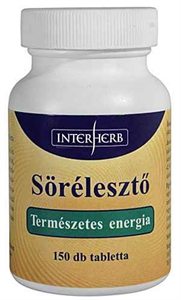 Interherb Sörélesztő Tabletta