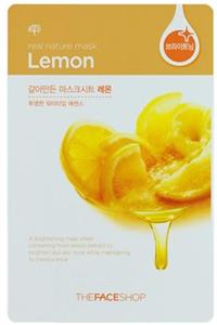 Thefaceshop Real Nature Face Mask Lemon