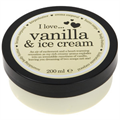I love... Vanilla & Ice Cream Testápoló