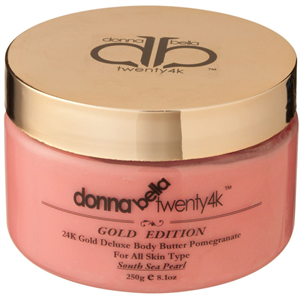 Donna Bella 24K Gold Deluxe Body Butter Pomogranate