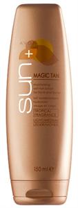 Avon Sun+ Magic Tan Önbarnító Hidratáló Lotion Arcra és Testre