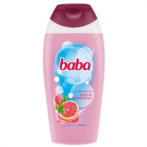 Baba Frissítő Tusfürdő Grépfrút és Bazsalikom