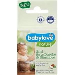 Babylove Szilárd Tusfürdő és Sampon 2In1 Nature