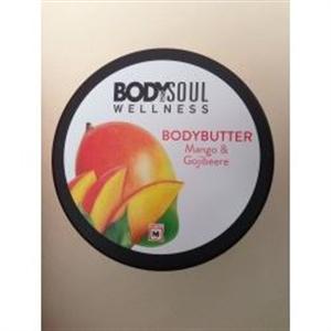 Body&Soul Wellness Bodybutter Mangó és Gojibogyó