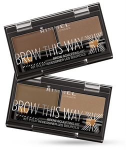 Rimmel Brow This Way Szemöldökszett